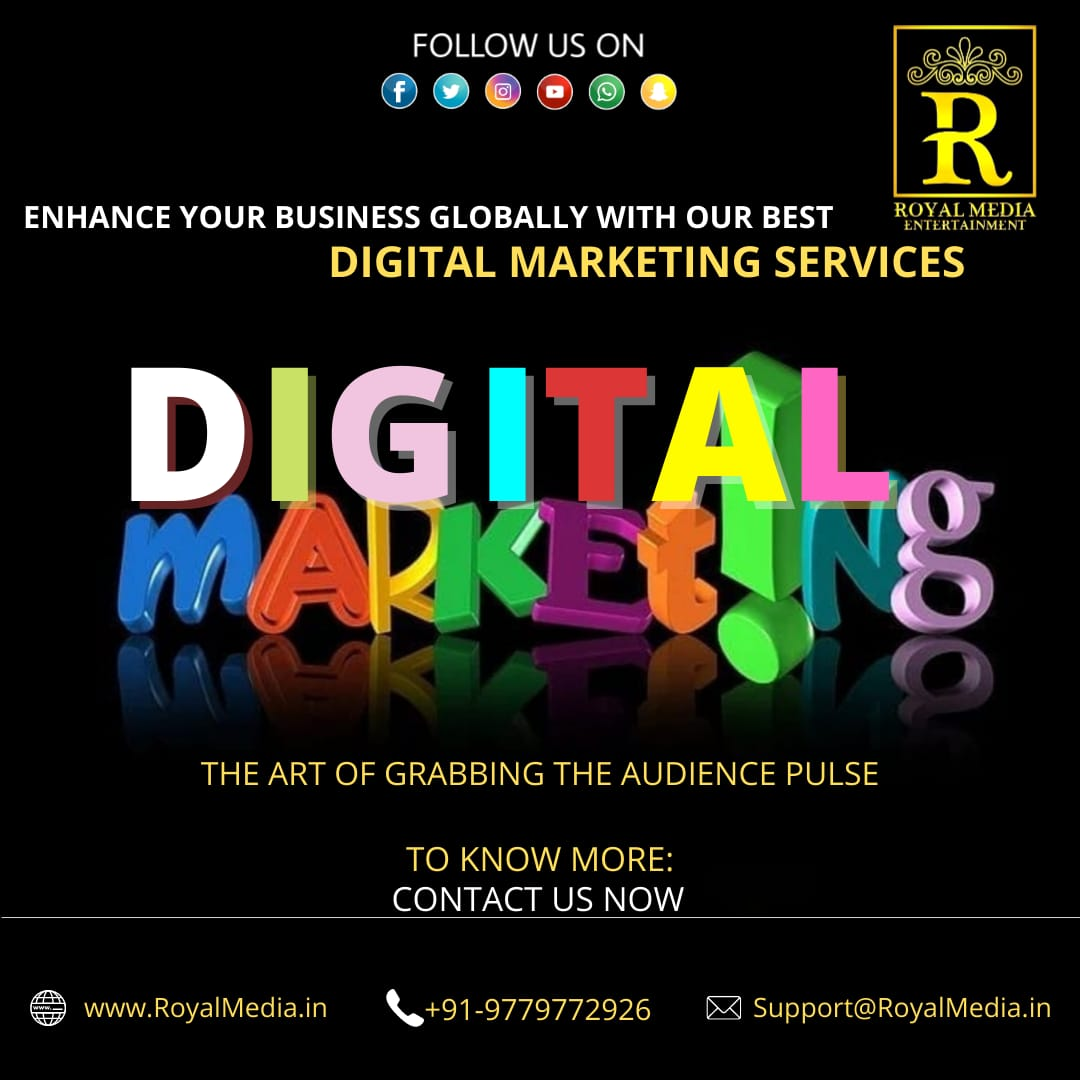 We provide all digital marketing facilities at very affordable prices