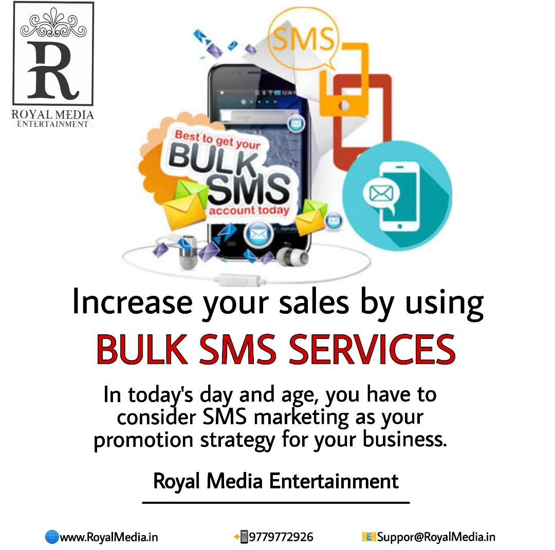 Increase your business using bulk SMS marketing.