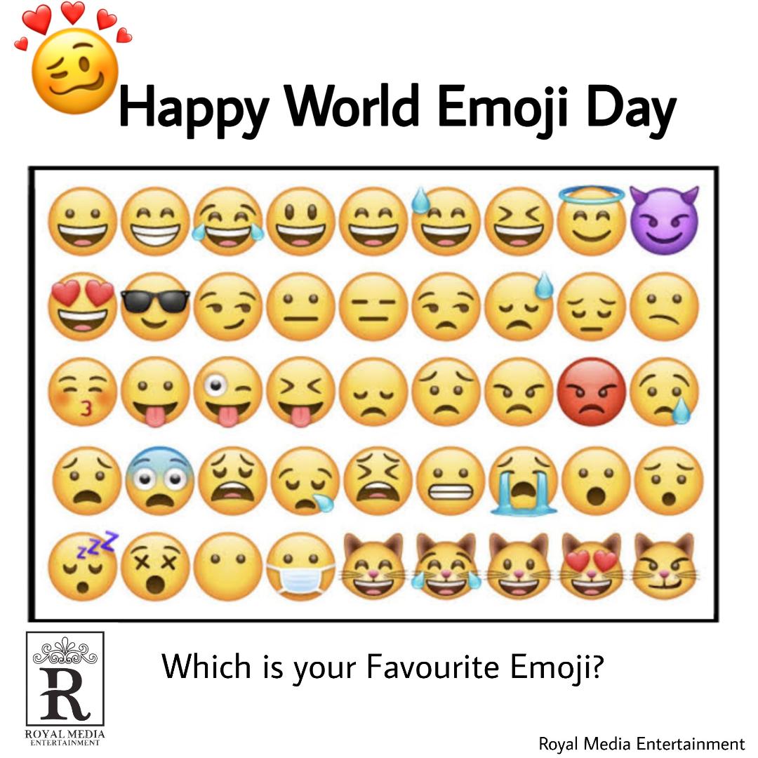 Emoji Day!😊