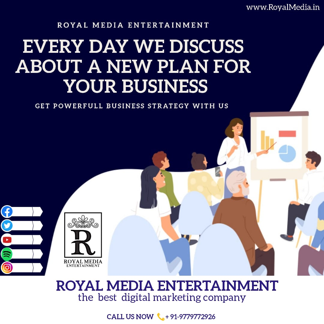 Powerful Business strategy with Royal Media Entertainment