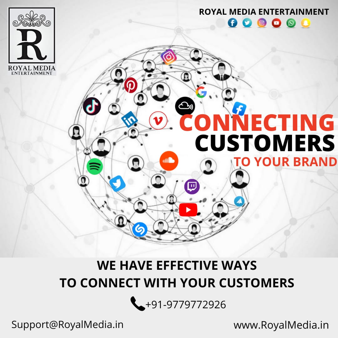 Find ways to connect your customers with us!