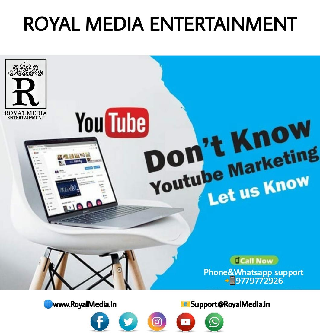 Connect more audience with our Youtube Services.