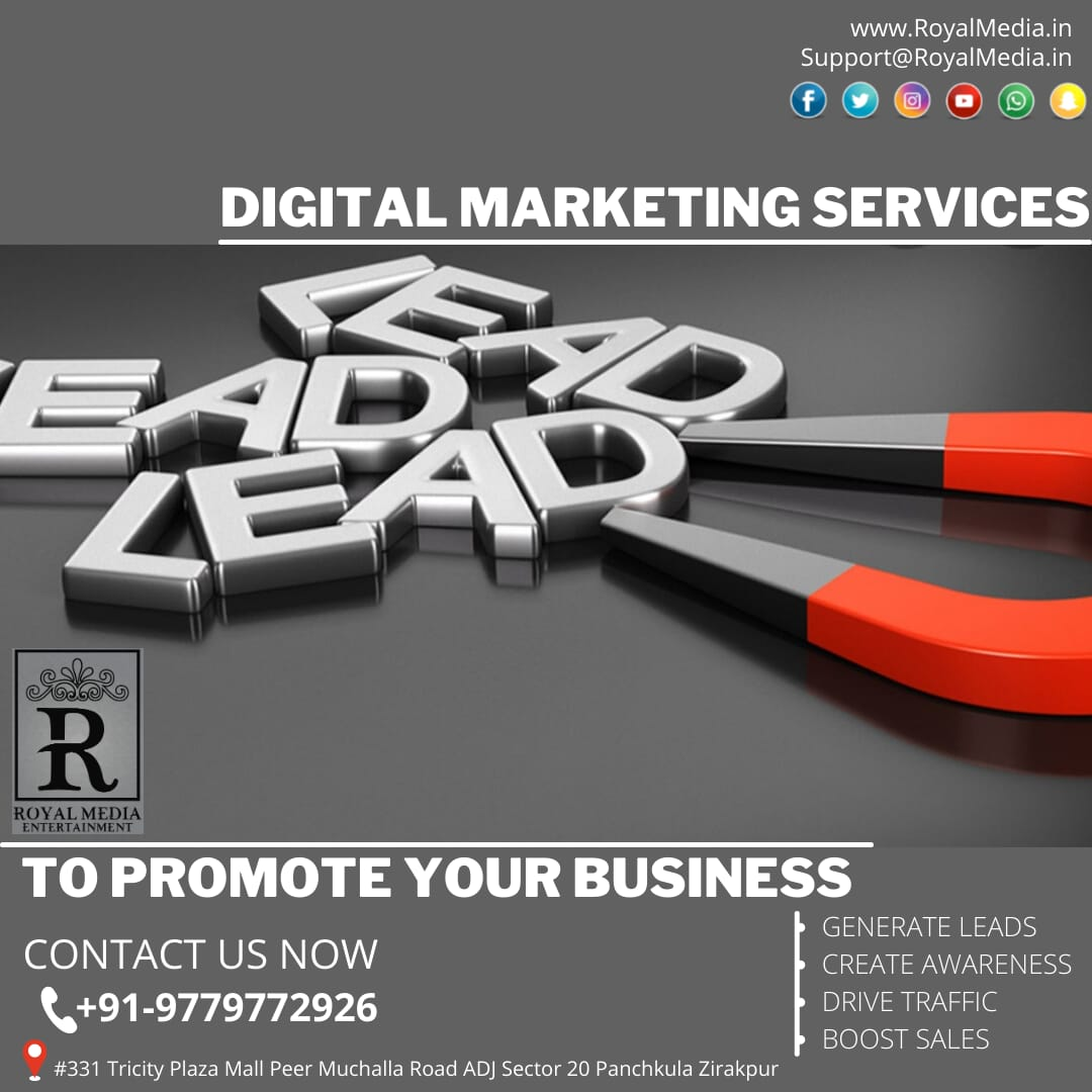 Wide range of digital marketing services