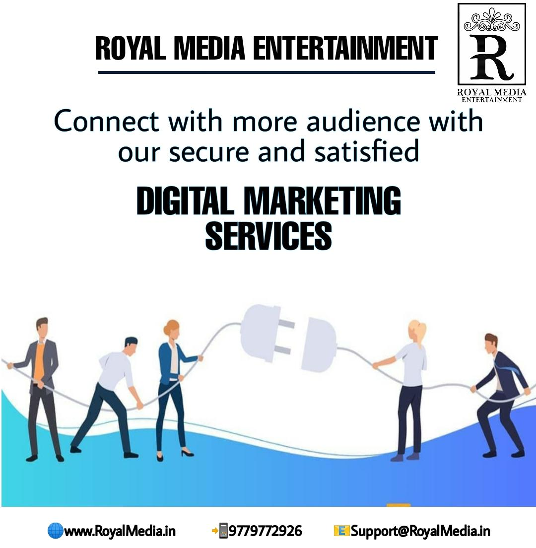 Connect more audience with our services!