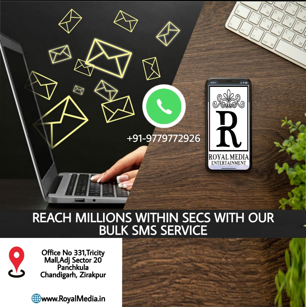 Simple and instant bulk SMS messaging.