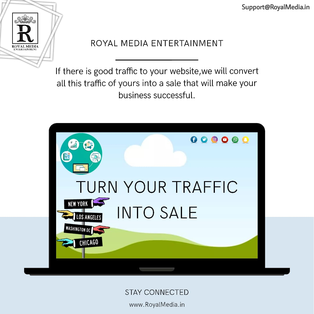 Turn Your Traffic Into Sale