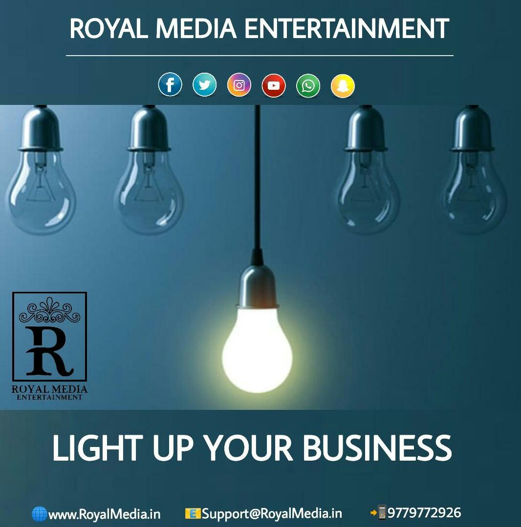 Light up your business with us!