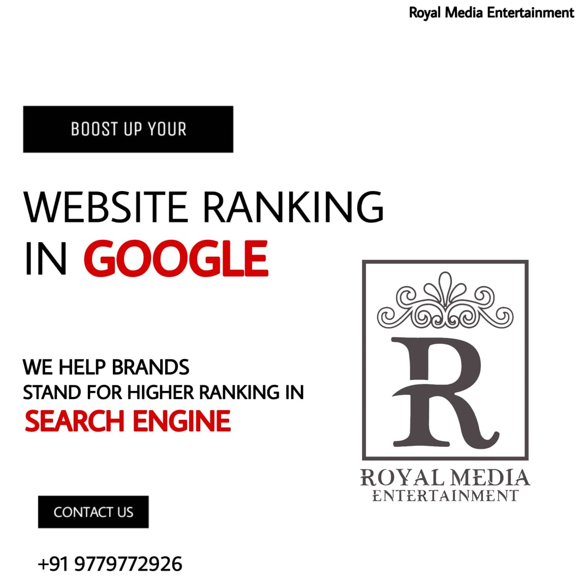 Boost Up Your Website Ranking in GOOGLE