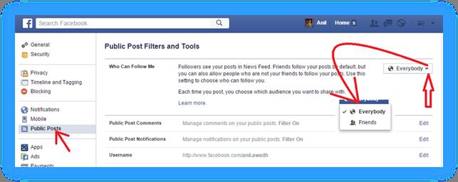 """激活Facebook个人页面的""""关注""""按钮"""
