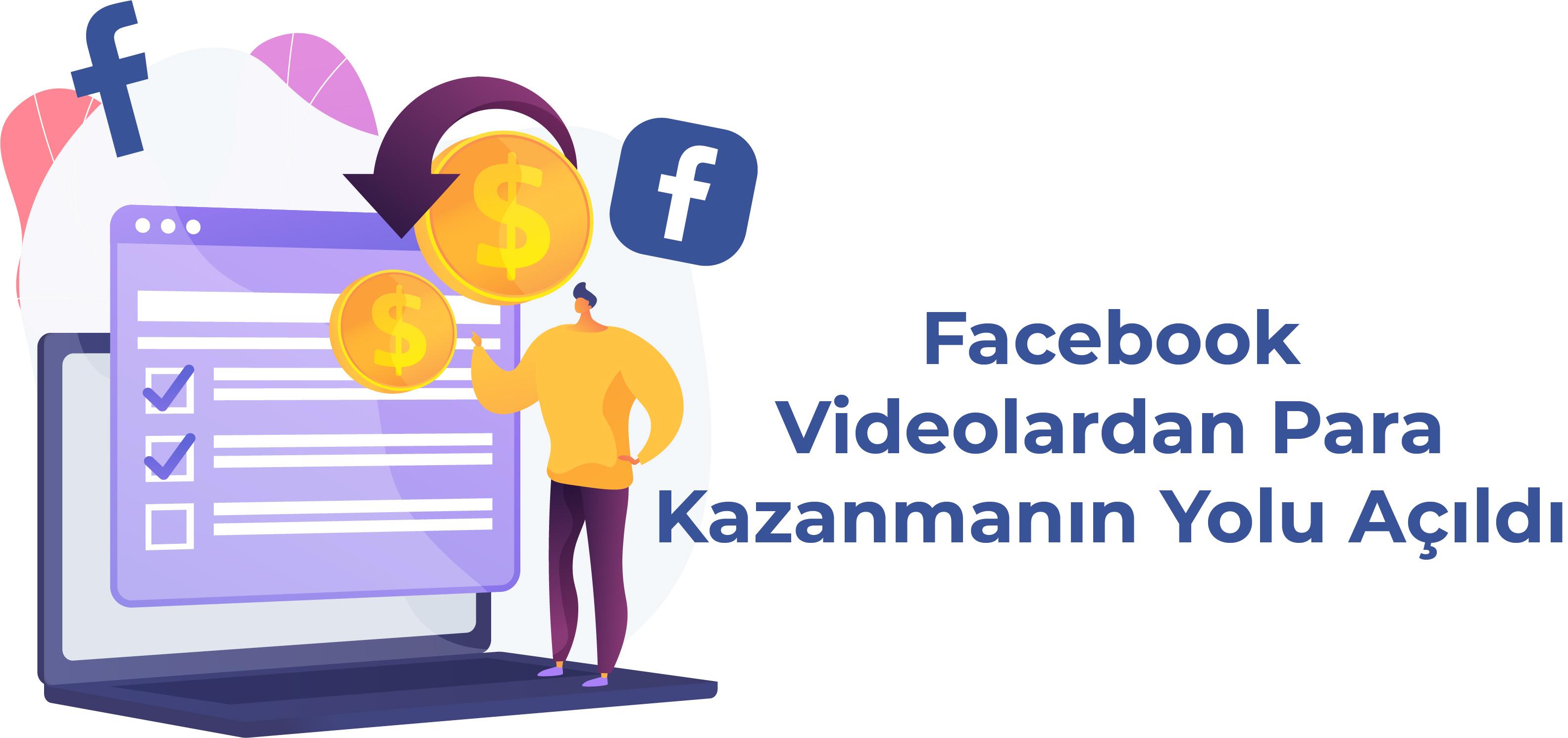 Facebook Videolardan Para Kazanmanın Yolları Açıldı!