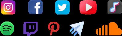 tüm sosyal medya platformları