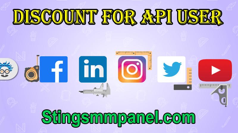 Discount For API User