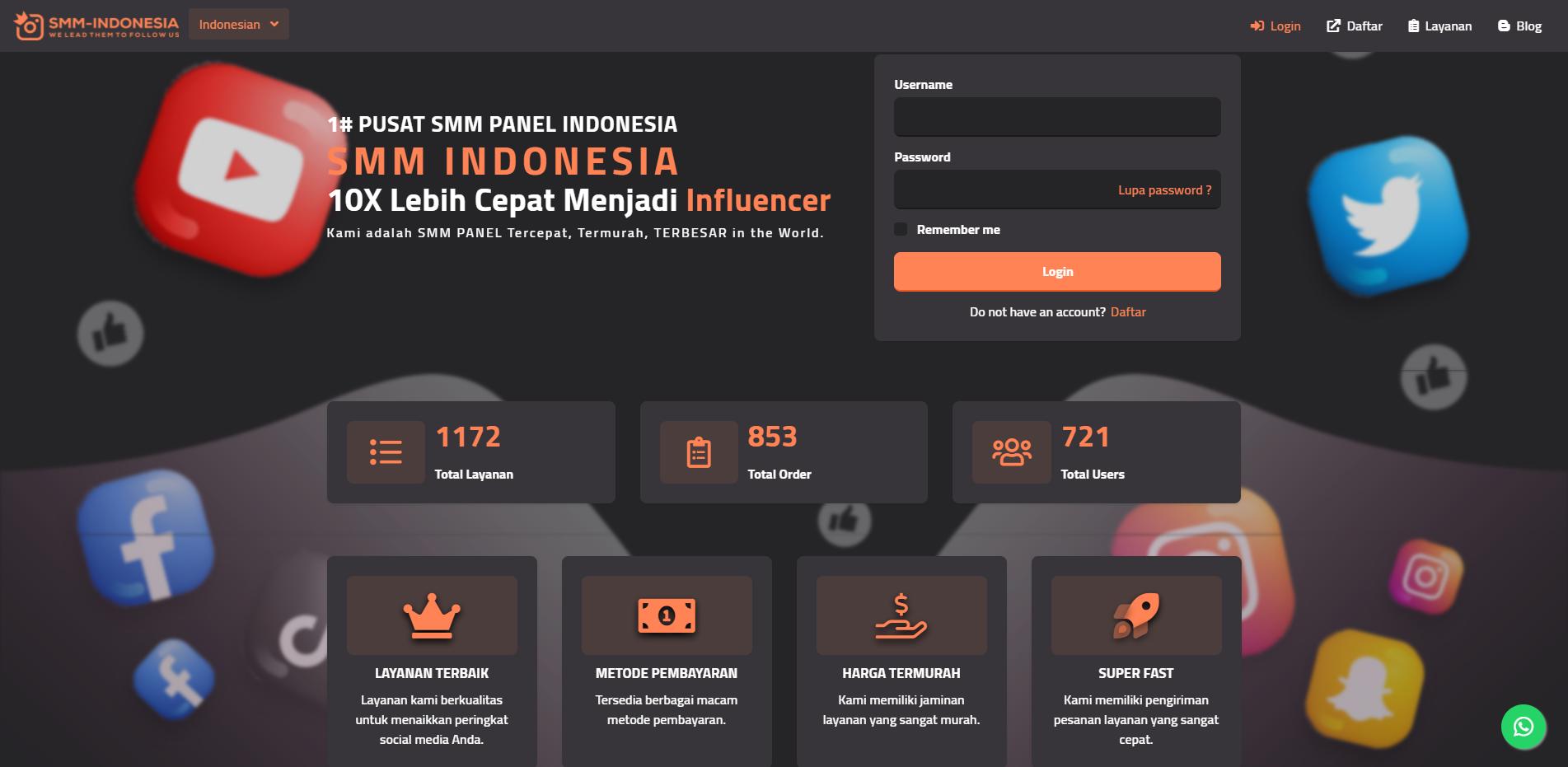 SMM Panel Berkualitas dan Murah di Indonesia