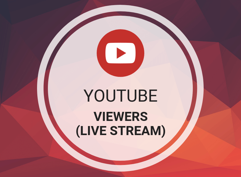 Buy cheap youtube live stream views 24/24 day by day