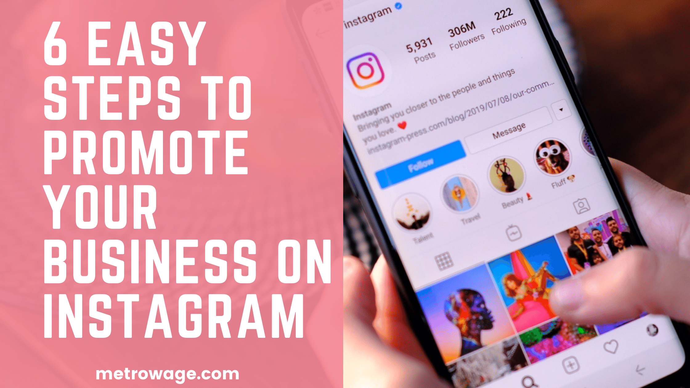 6 Easy Steps to Promote your Business on Instagram