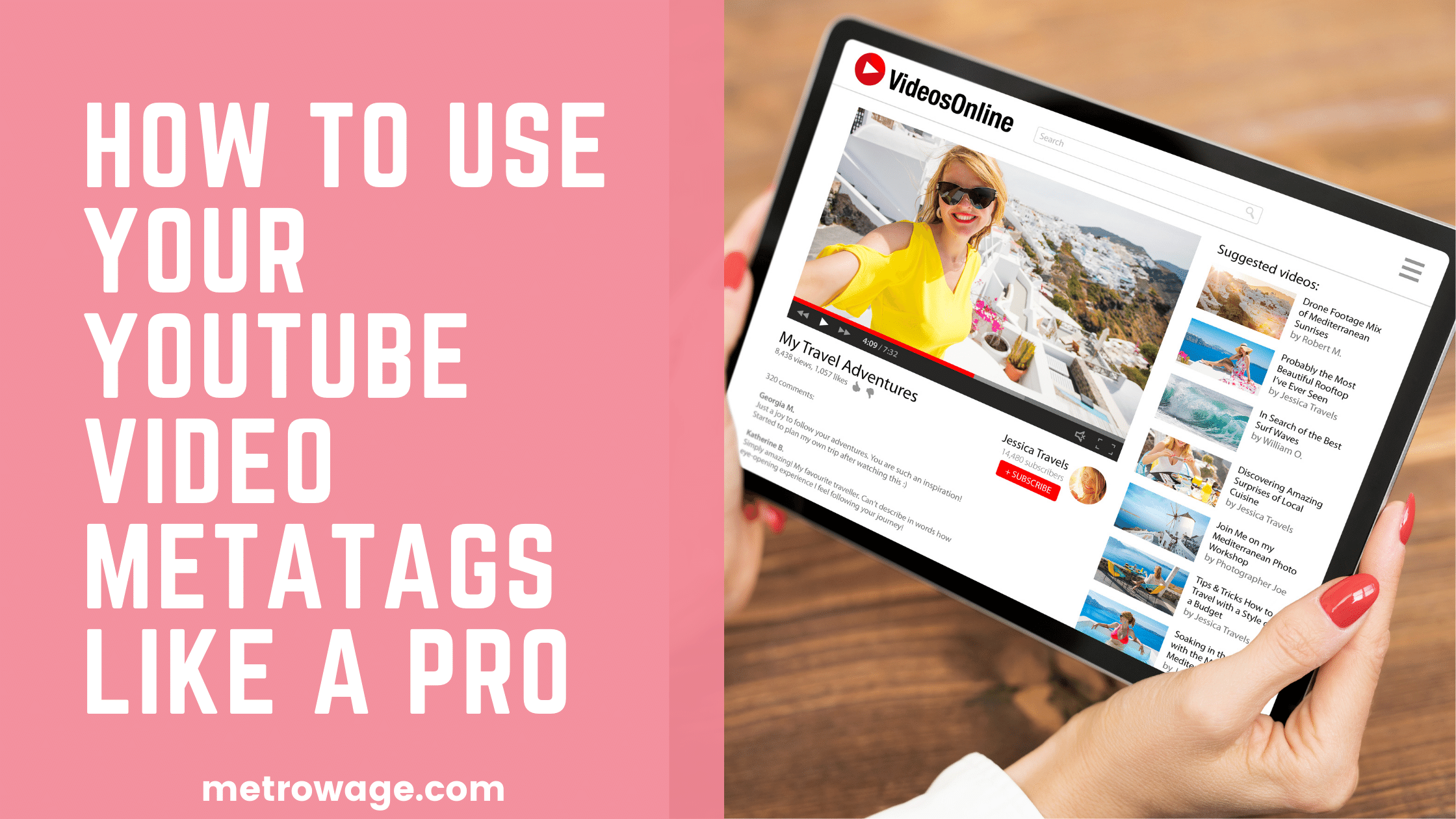 How To Use Your YouTube Video Metatags Like A Pro