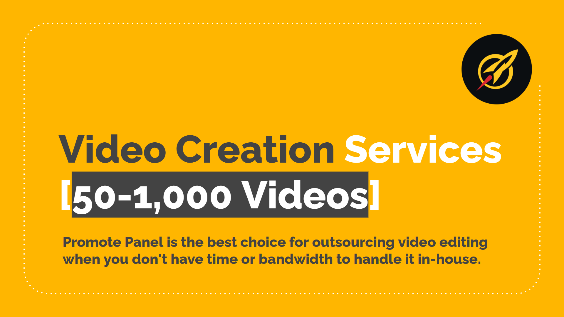 Short Video Creation Services [50 - 1,000 Videos]