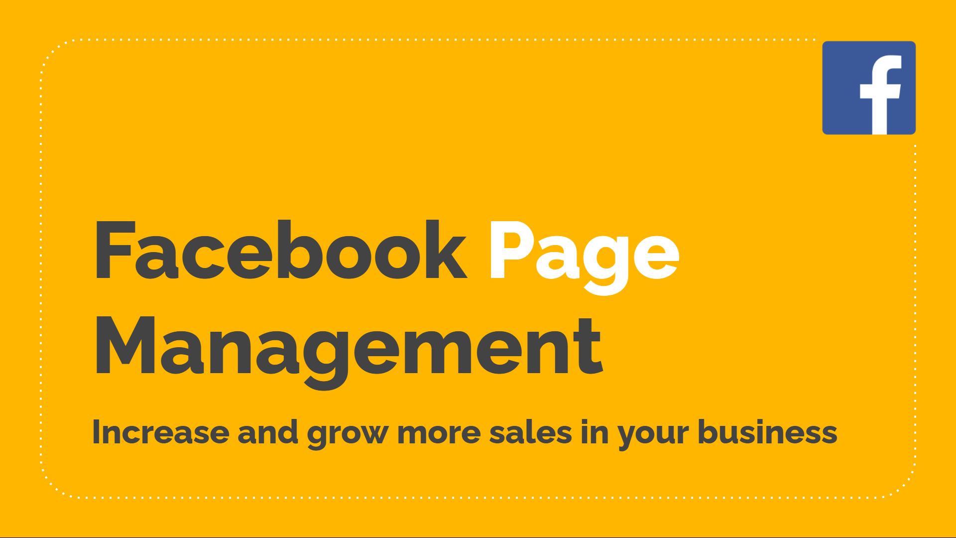 Facebook Page Management Services (Cambodia)