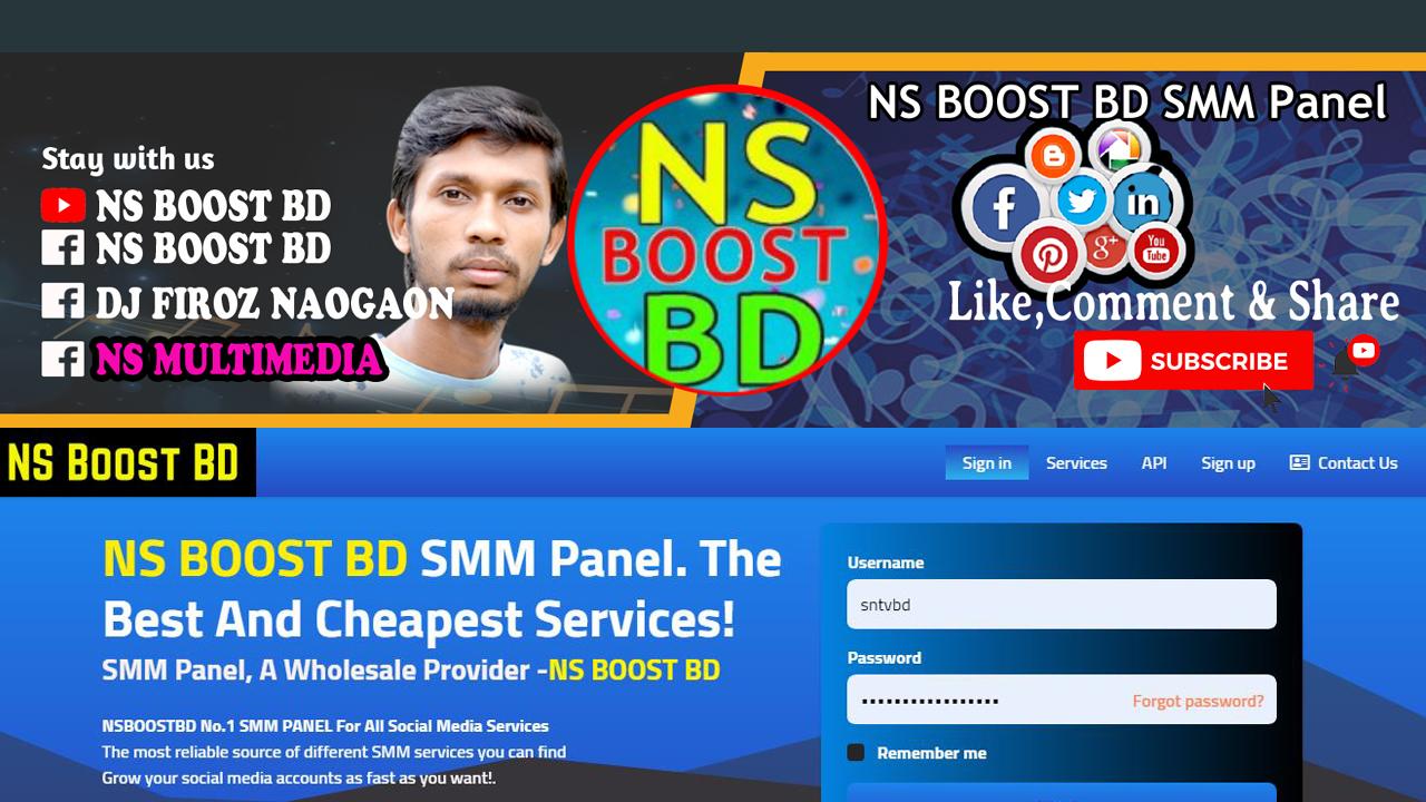 SMM Panel, A Wholesale Provider -NSBOOSTBD.COM